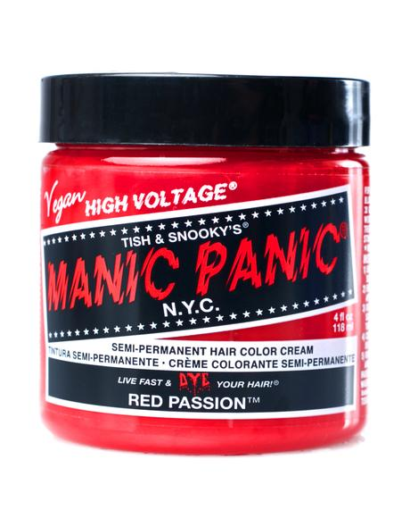 Red Passion High Voltage Hair Dye