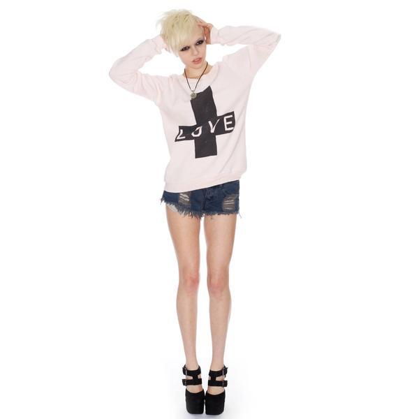 Zoe Karssen Love Cross Sweater