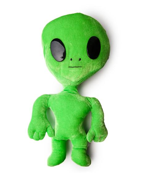 Seeing Green Alien Plushie