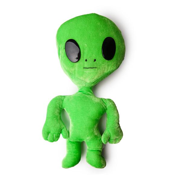 Seeing Green Alien Plushie