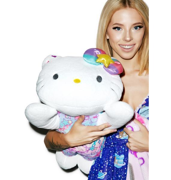 Sanrio Pastel Pop Hello Kitty Huggable Pillow