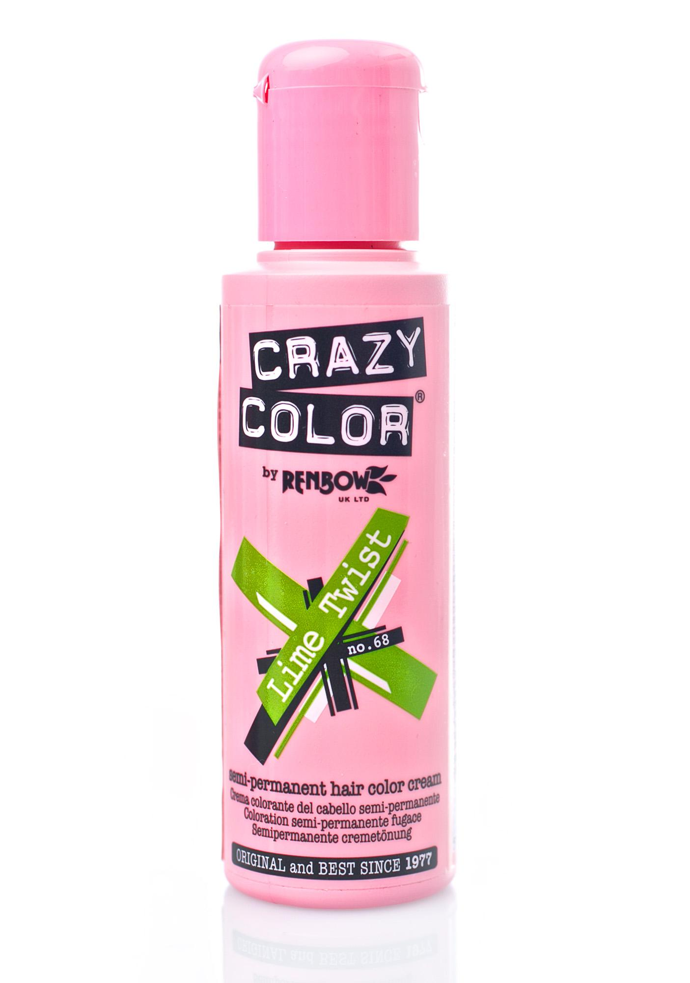 Crazy Color Lime Twist Hair Dye