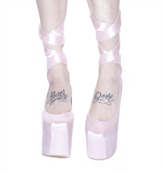 Wildfox Couture Wildfox x Jeffrey Campbell Ballet Platforms