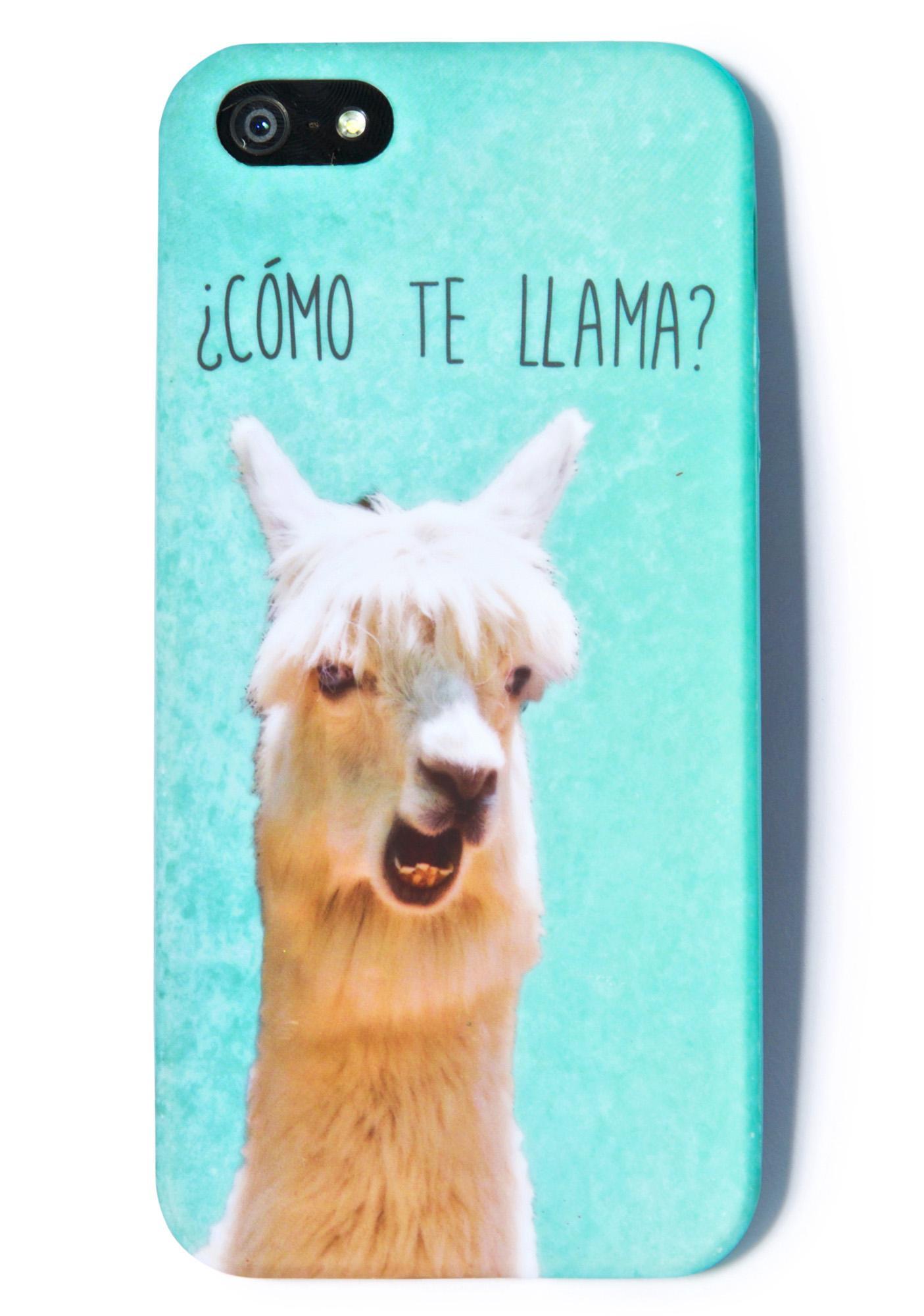 Cómo Te Llama iPhone 5 Case