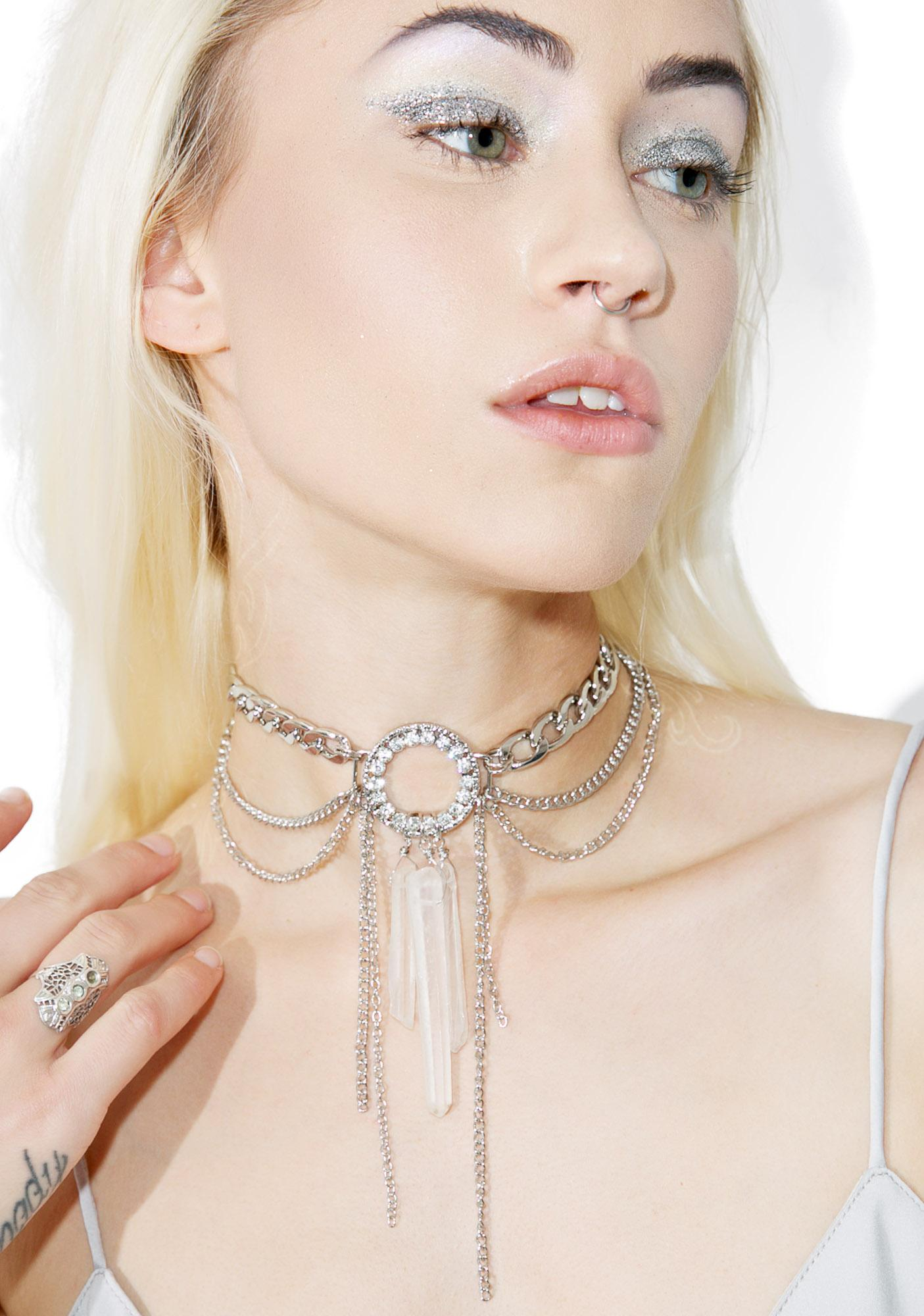 Love And Madness Crystalline Necklace