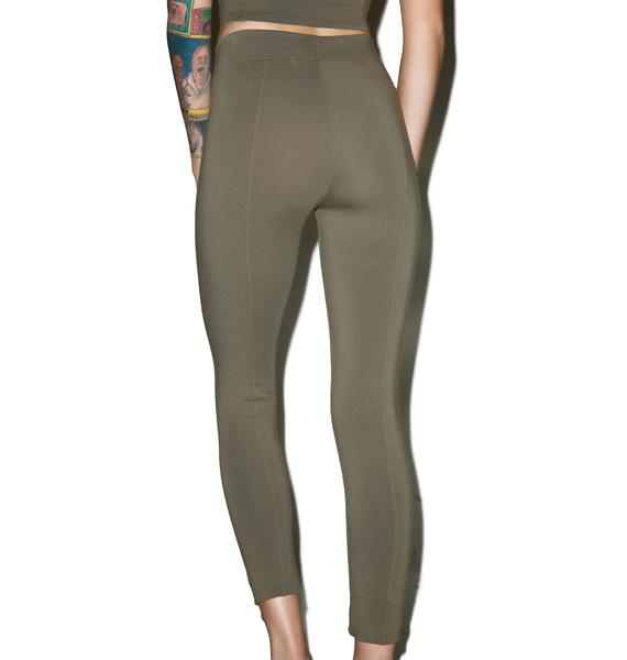 Groceries Apparel Beech Bark Seam Leggings