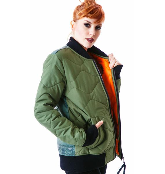 Insight Mega Hetch Bomber Jacket