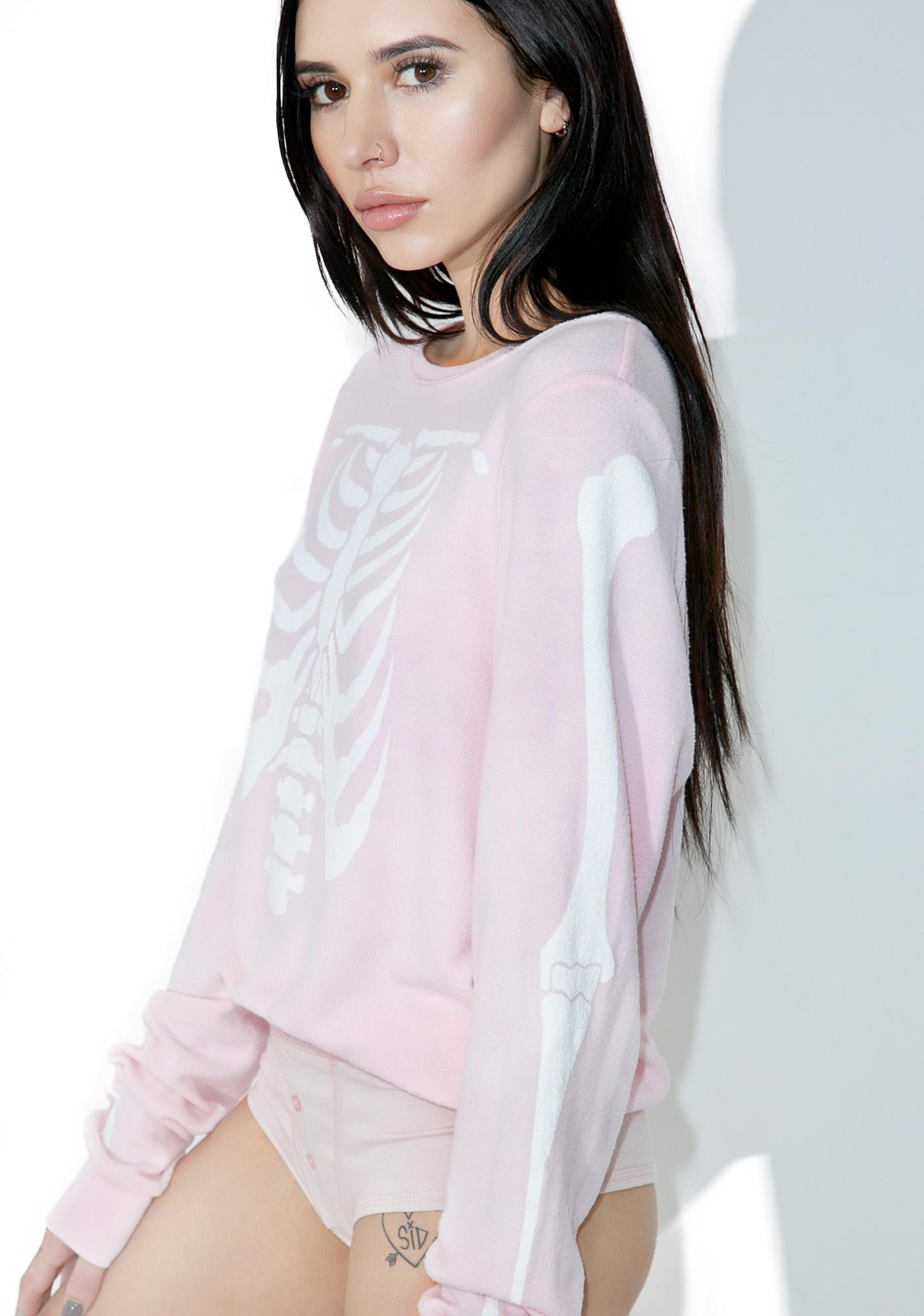 Wildfox Couture Inside Out Baggy Beach Jumper