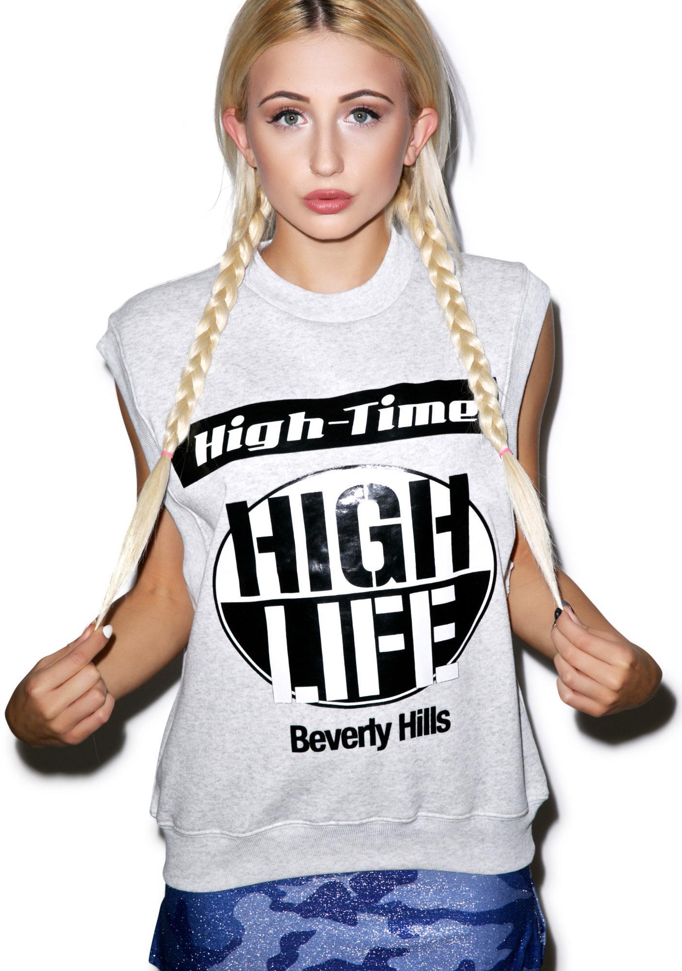 Joyrich High Life Sleeveless Crew