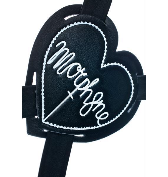 Morph8ne Heart Logo Suspender
