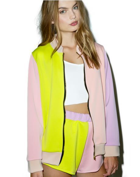 The Pastel Bomber Jacket