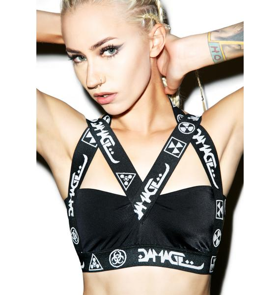 DAMAGE Harness Bralet