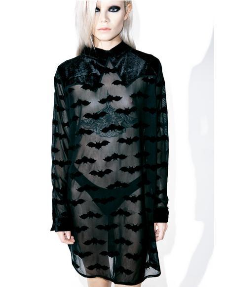 Madamned Shirt Dress