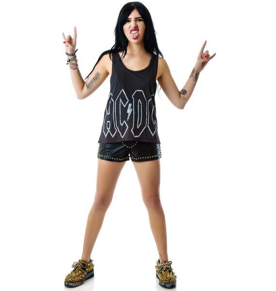 Junk Food Clothing AC/DC Tank