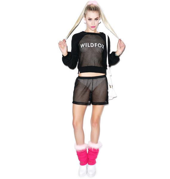 Wildfox Couture Classic Warm Up Sweater