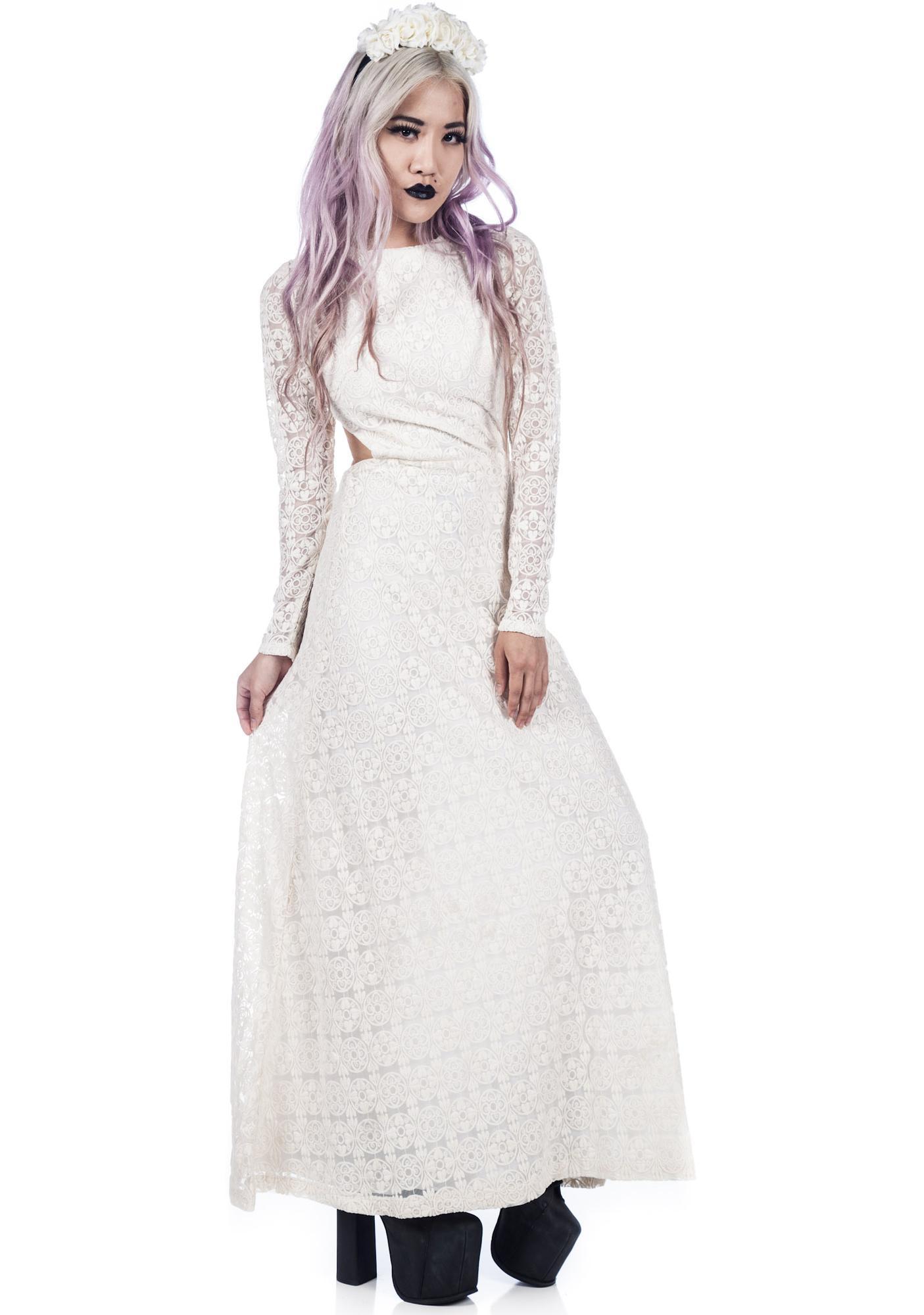 One Teaspoon Twilight Garden Maxi Dress