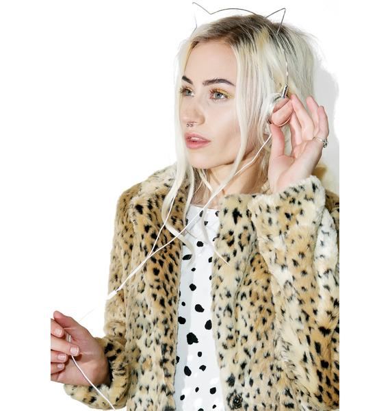 Skinnydip X Zara Martin Kitty Headphones