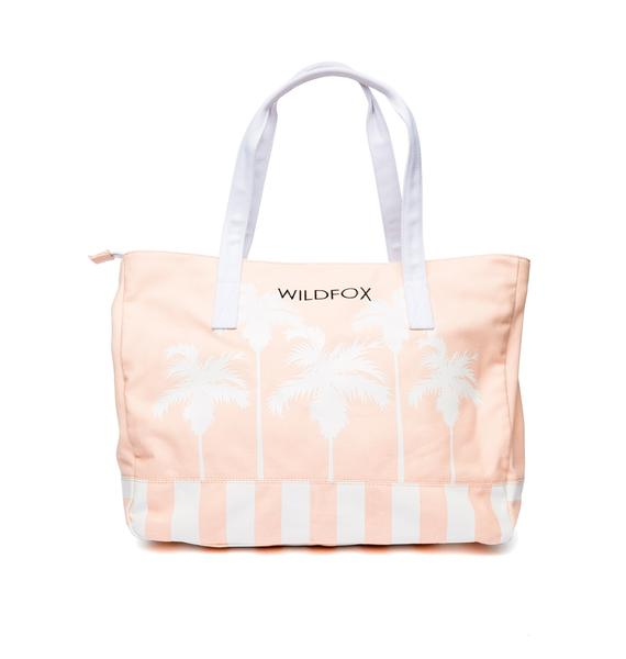 Wildfox Couture Bel Air Palms Tote Bag