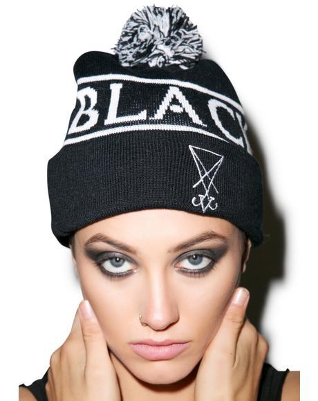 Blackcraft Pom Pom Beanie