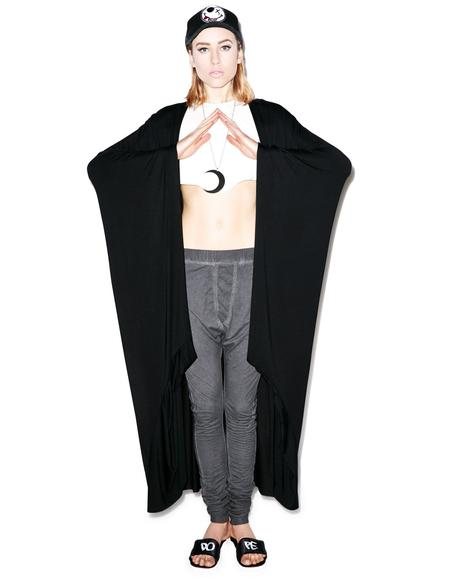 Eloise Long Draped Cardigan
