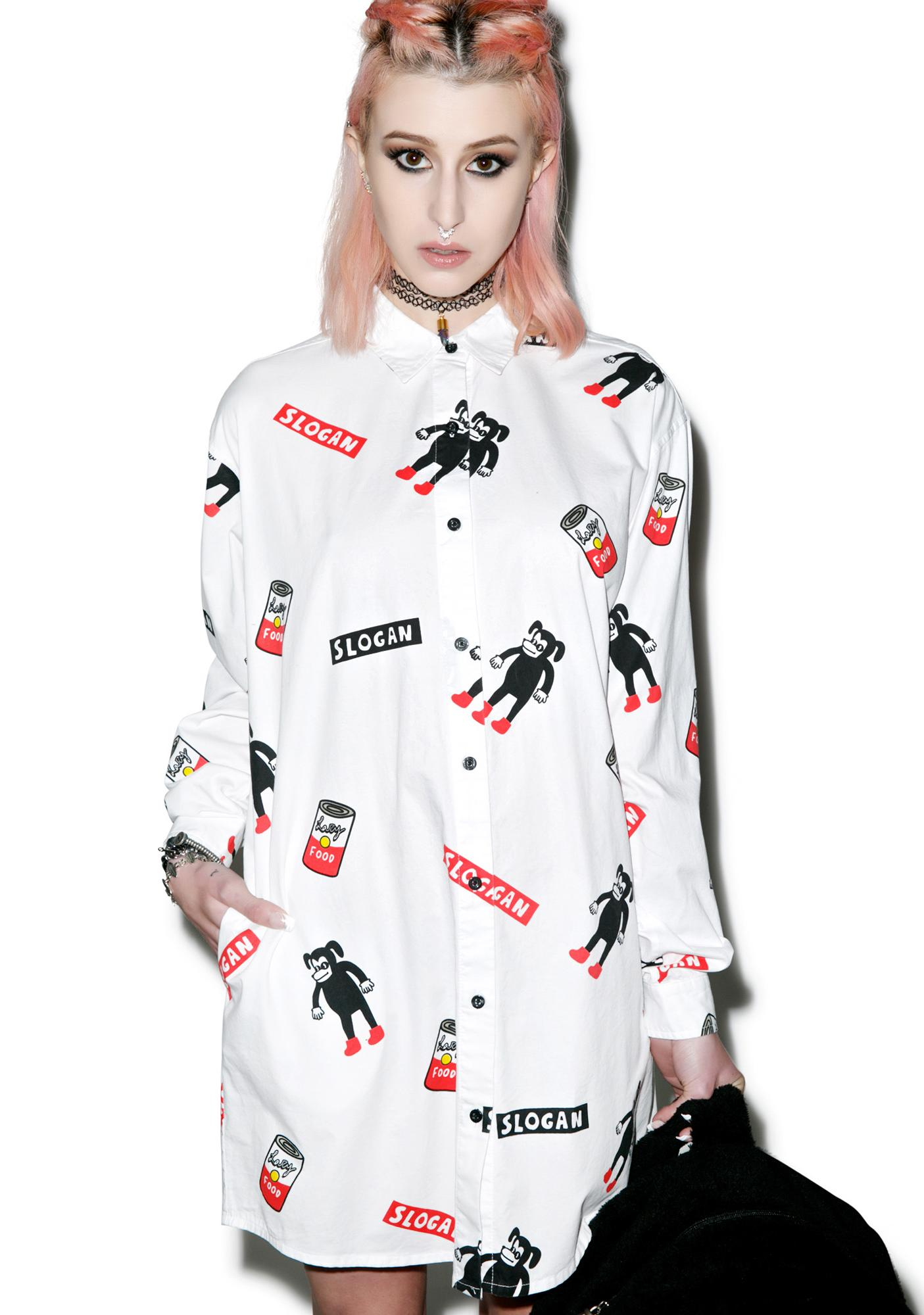 Lazy Oaf Slogan Shirt