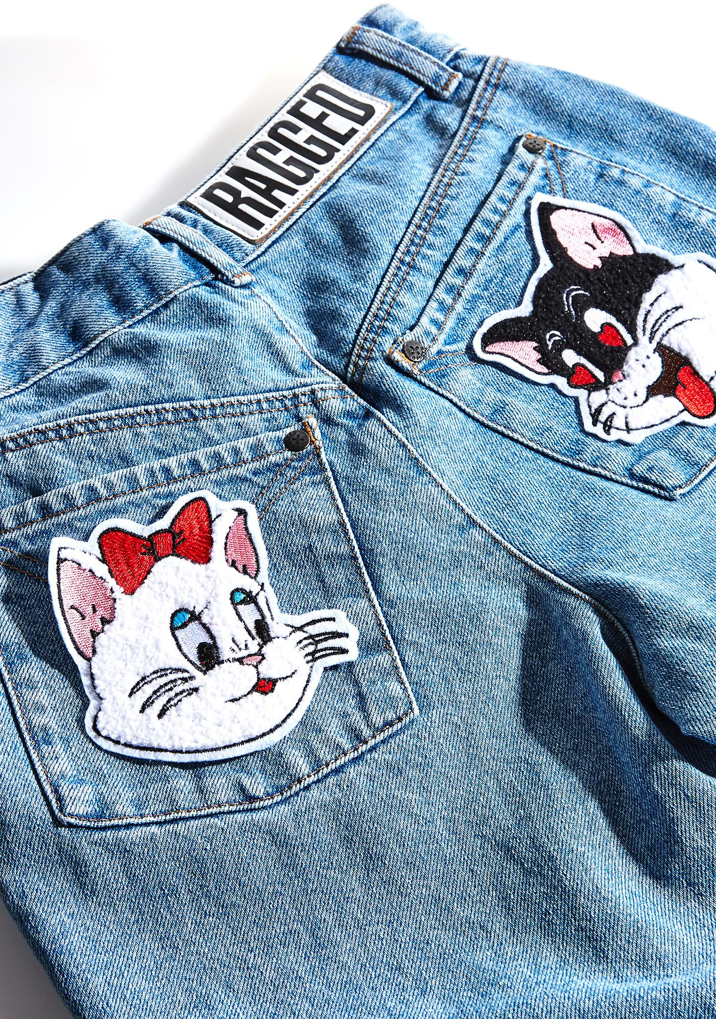 Rosehound Apparel Love Cats Patch Set