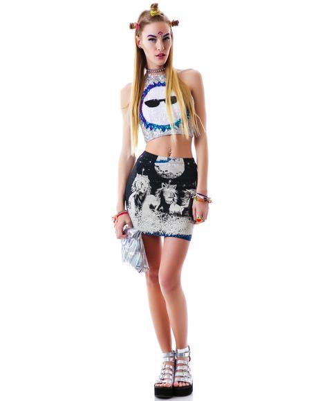 MoonDance Mini Skirt