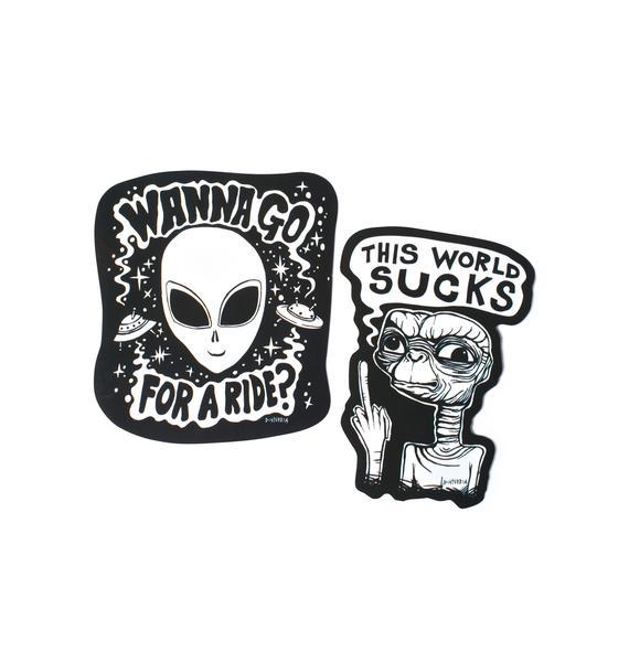 Disturbia Sticker Pack