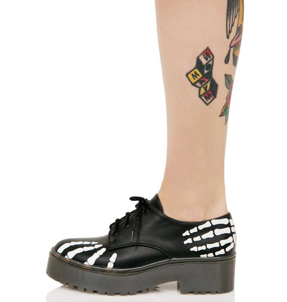 Iron Fist Grave Robber Derby Flats