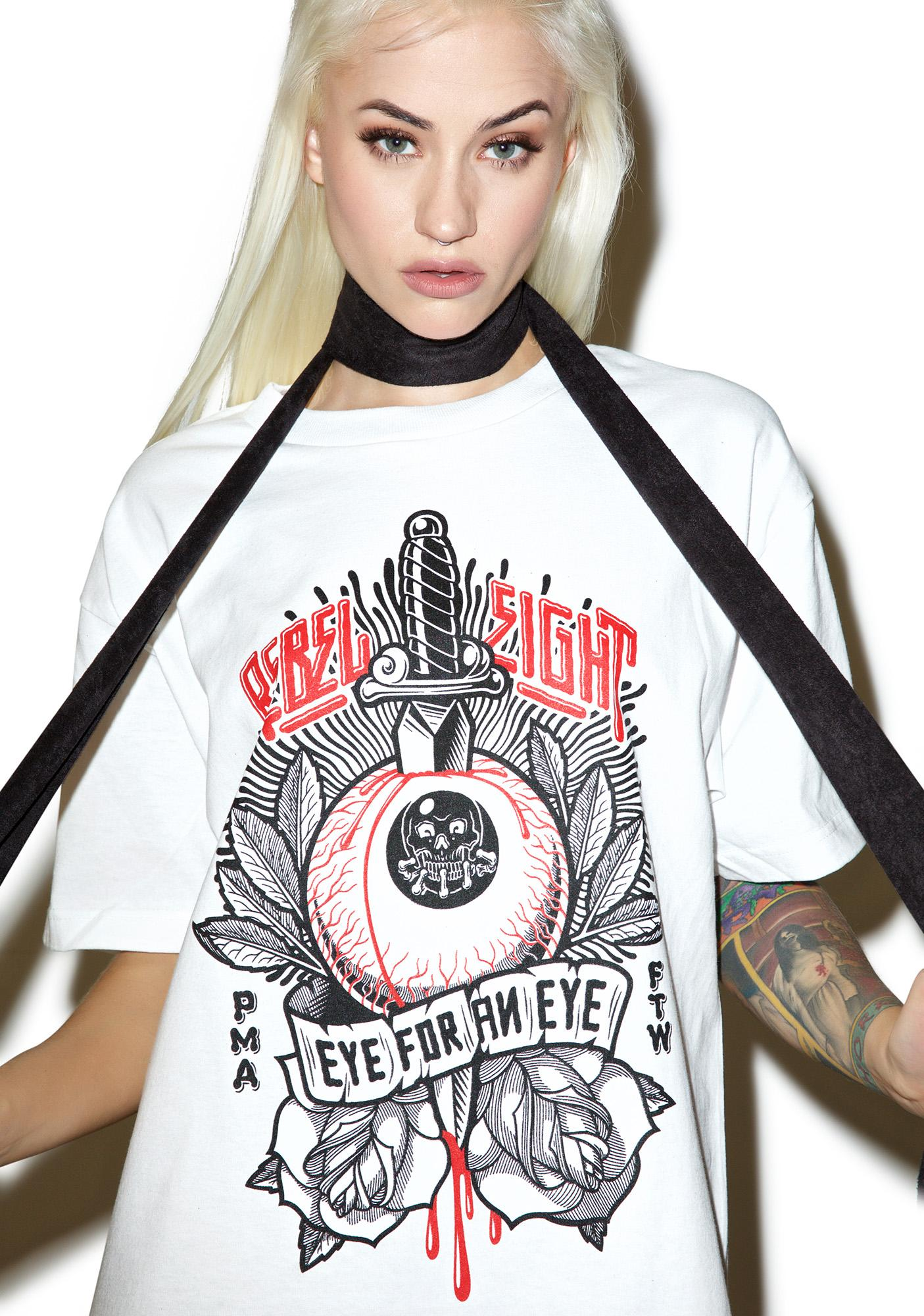 Rebel8 Eye For An Eye Tee