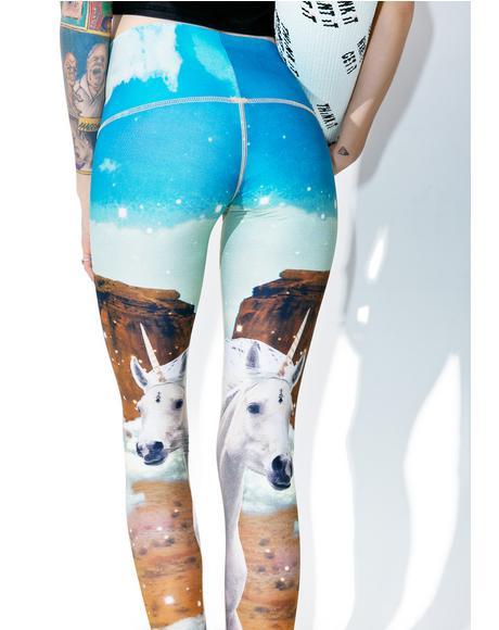 Unicorn Wrangler Hot Pants