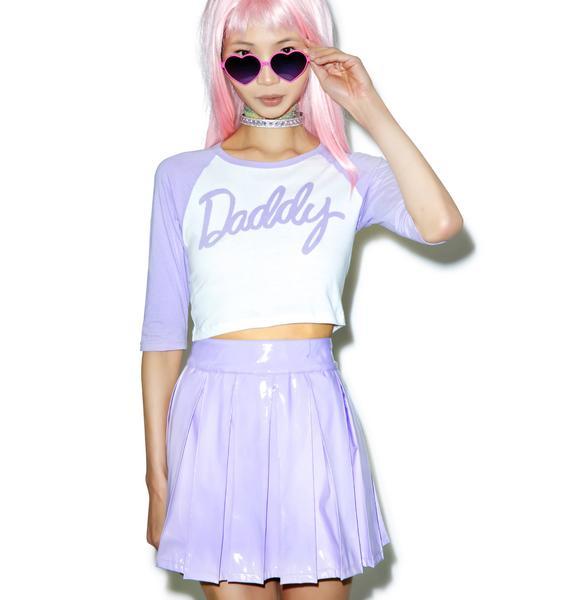 24HRS X Dolls Kill Daddy Baseball Tee