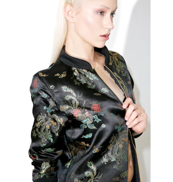 O Mighty Wang Fei Bomber Jacket