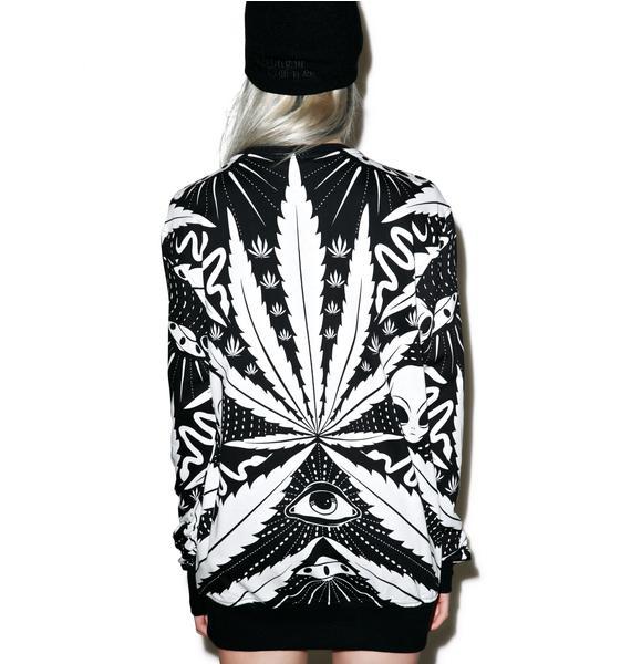 Killstar Space Grass Sweatshirt