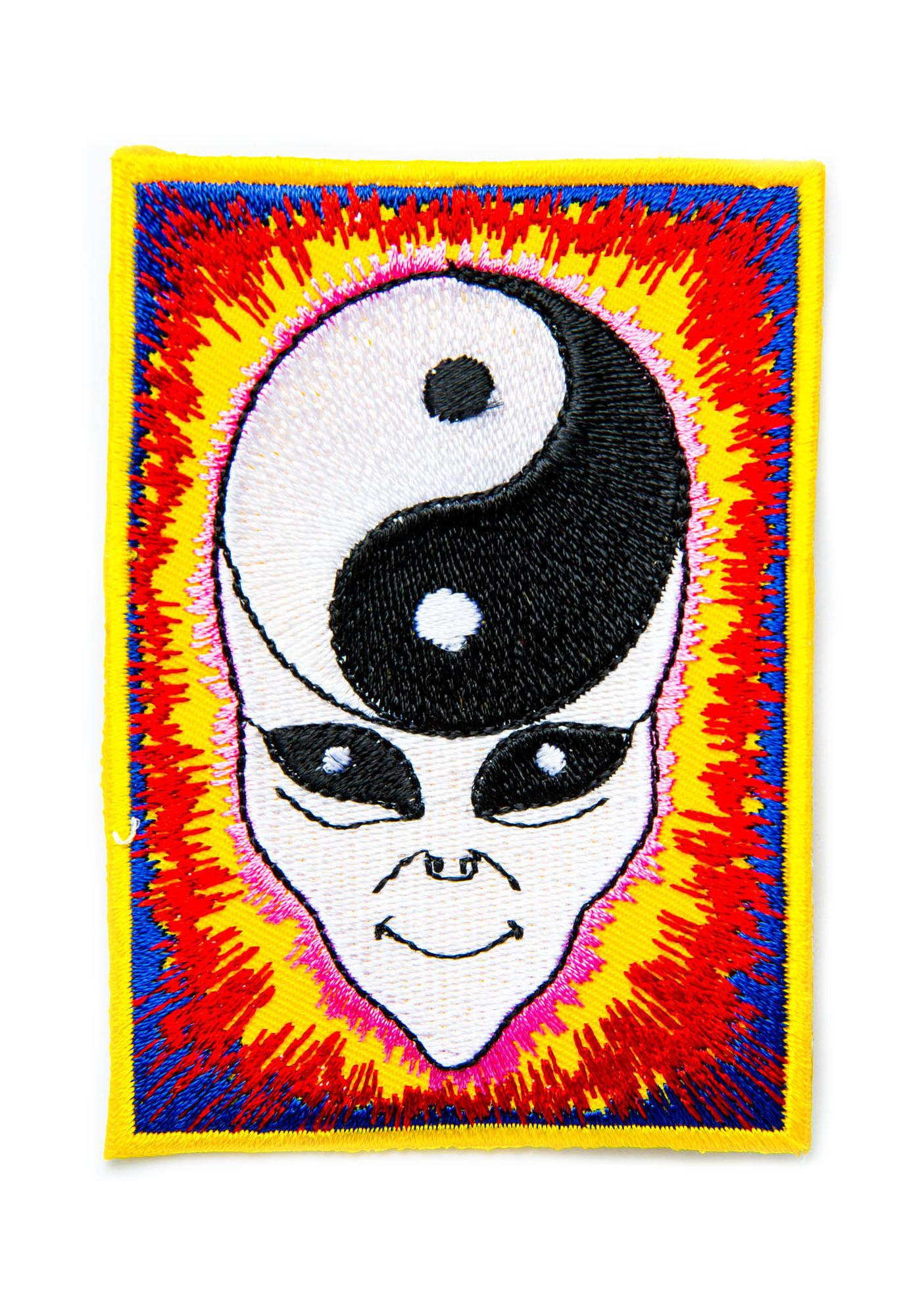 Yin Yang Minded Alien Patch