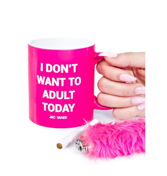 Jac Vanek Adult Coffee Mug