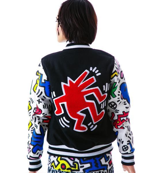Joyrich Man & Dog Varsity Jacket