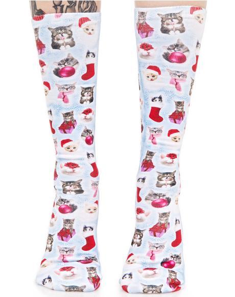 Gift Of Kittenz Socks