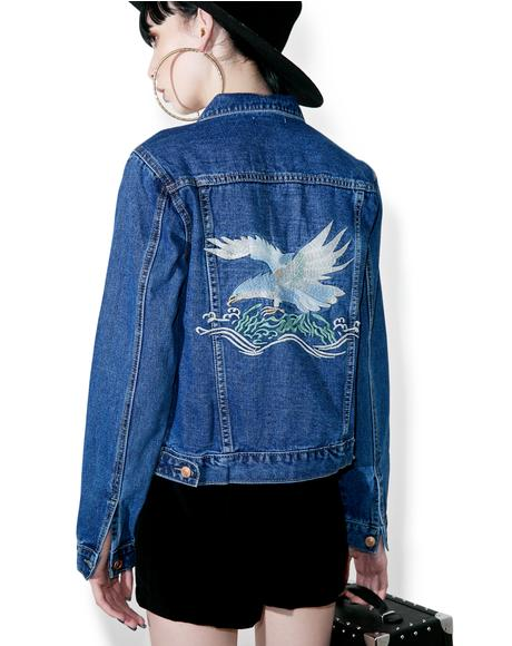Eagle Eyes Denim Jacket