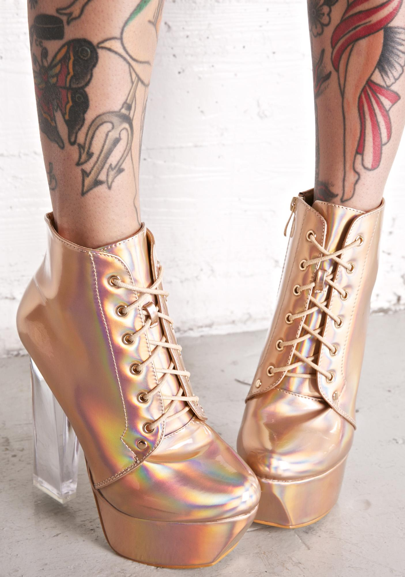 Goldie Not Sorry Platform Heels