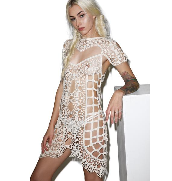 For Love & Lemons Barcelona Crochet Coverup