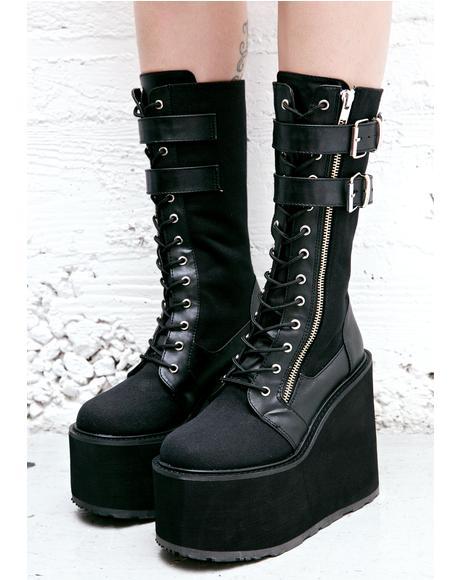 Wyvern Rider Platform Boots