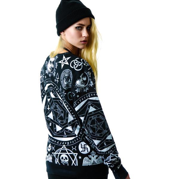Killstar Occult Pullover Sweatshirt