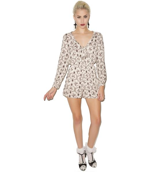Iron Fist Inked Up Romper