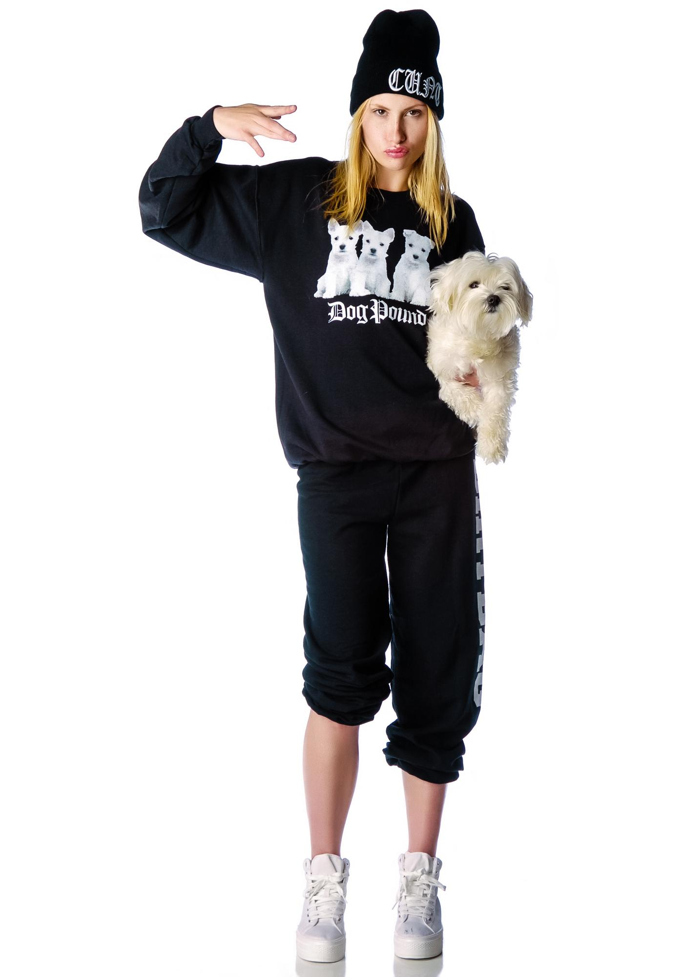 Petals and Peacocks Dog Pound Sweatshirt
