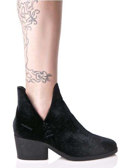 Brielle Cutout Ankle Boots