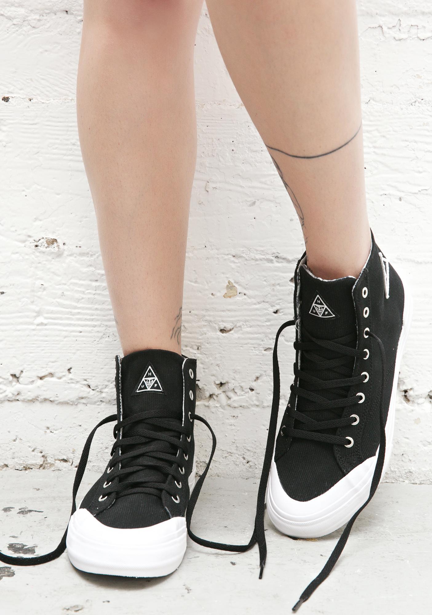 HUF X Obey Classic Hi Top Sneakers