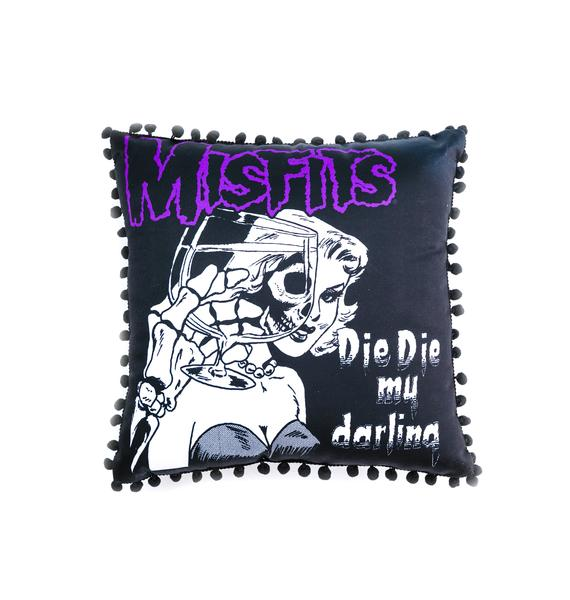 Sourpuss Clothing Misfits Darling Pillow