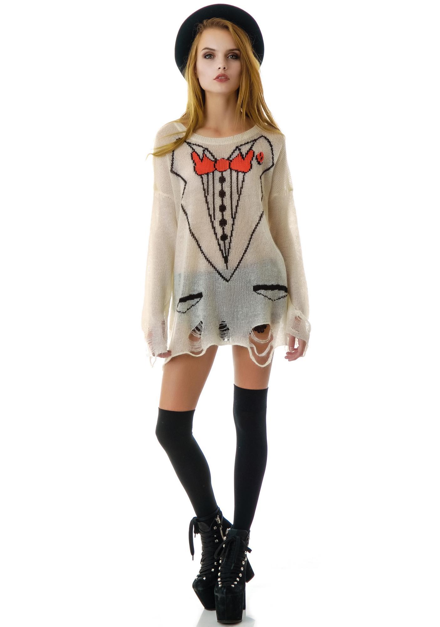 Wildfox Couture Sinatra Lennon Sweater