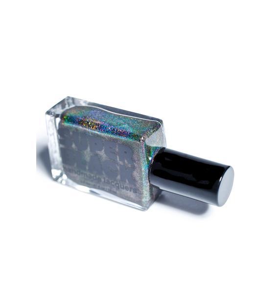SUPER BLACK Switch Nail Polish